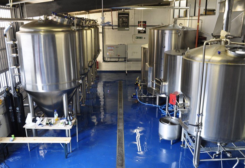 Inside a Craft Brewery