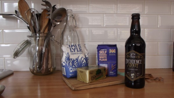 Making craft beer bread