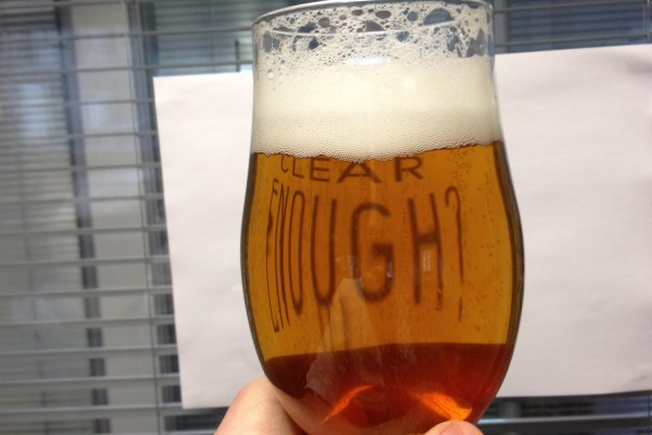 Clear homebrew