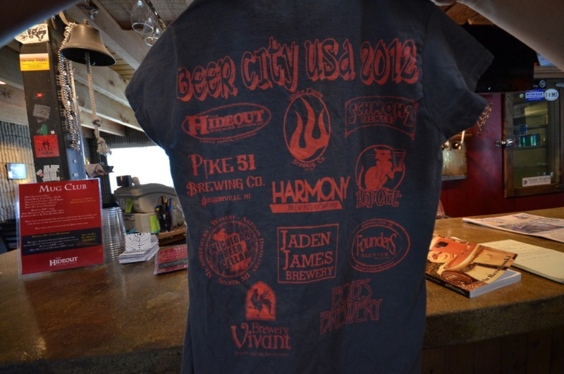 Beer City USA t-shirt