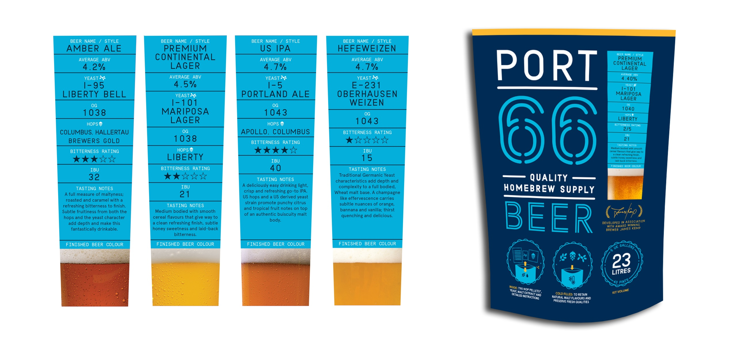 P66 Beer Kit & Variety Labels rs